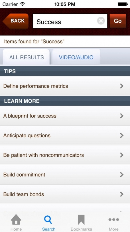 Mobile ManageMentor by Harvard Business Publishing