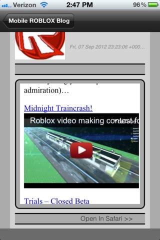 Mobile ROBLOX Developer Blog