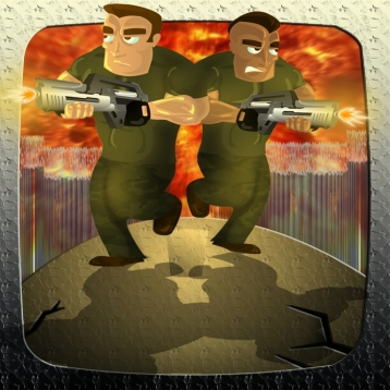 Modern Security War - Frontline Border Patrol Combat Running Game