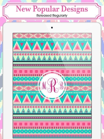 t monogram ipad wallpaper images pictures becuo
