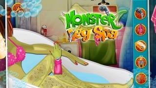 Monster Leg Spa & Makeover - Free fun game for girls