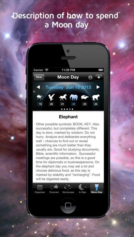 Moonganizer - Moon Calendar, Astrology & Organizer