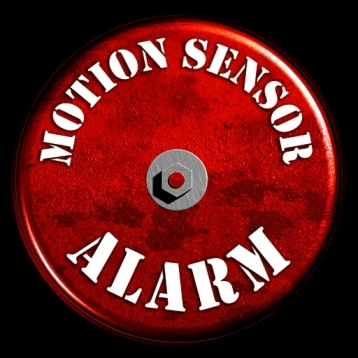 Motion Sensor Detection Alarm with Spy Audio Recorder