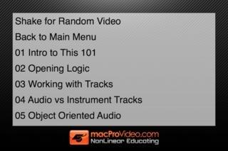 MPV's Logic Pro 101 Tutorial