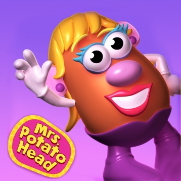Mrs. Potato Head Create & Play