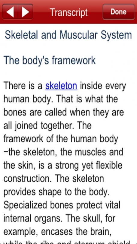 Muscular & Skeletal System - Anatomy - Jr. Animated Atlas series