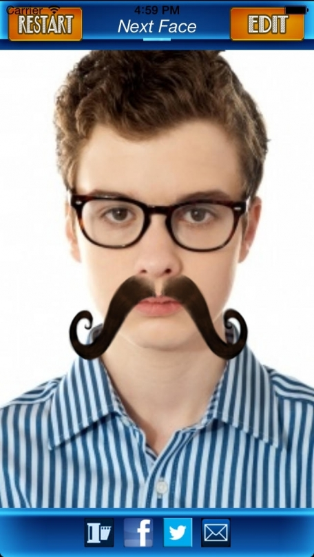 Mustache Photo Fun: Blend a Free Cool Mustache with your Photo