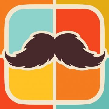 MustacheFace - Mustache Booth
