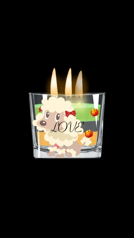 !My Candles, with
