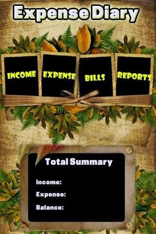 * My Expense Daily Diary *