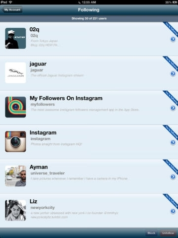 My Followers On Instagram