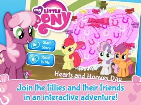 My Little Pony: Hearts and Hooves Day Education App Review (iOS, $2.99