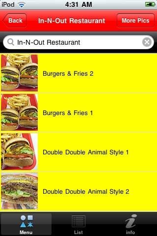mySecretMenu - Fast food hidden menus