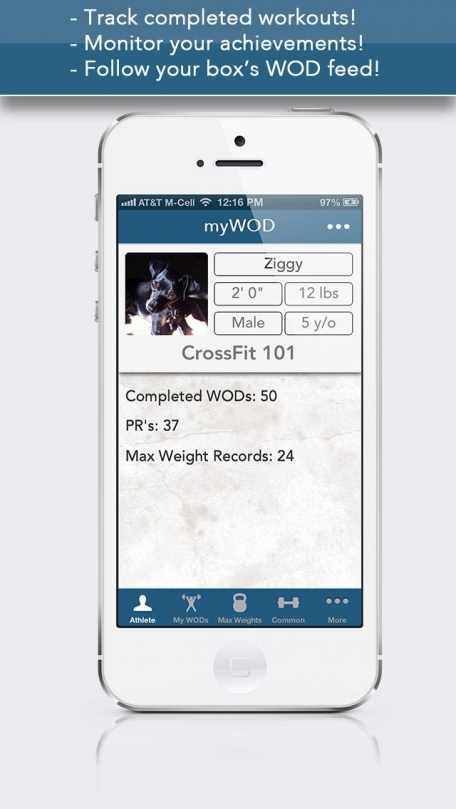 myWOD — All-in-One WOD Log for XF Workouts (NOT AFFILIATED WITH CrossFit Inc)