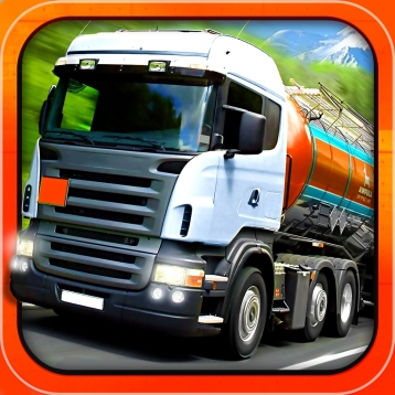 Trucker: Parking Simulator - Realistic 3D Monster Truck and Lorry \'Driving Test\' Free Racing Game