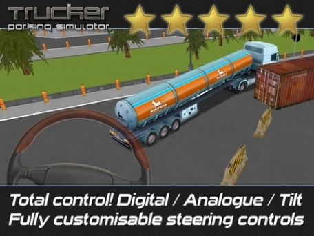 Trucker: Parking Simulator - Realistic 3D Monster Truck and Lorry 'Driving Test' Free Racing Game