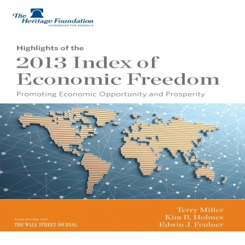 2013 Index of Economic Freedom