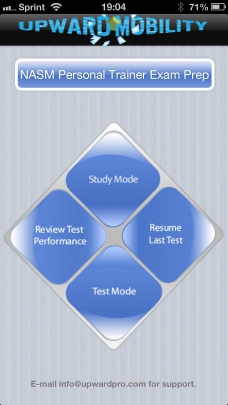 Nasm Exam Prep Education App Review Ios 599 For September 2018