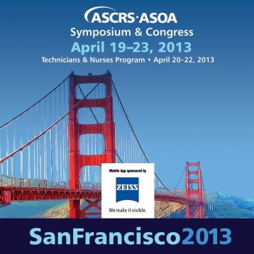2013 ASCRS/ASOA Symposium & Congress