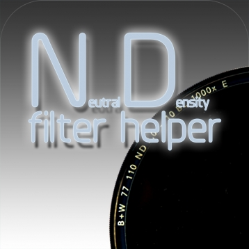 Neutral Density filter helper