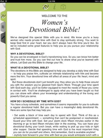 New Women's Devotional Bible