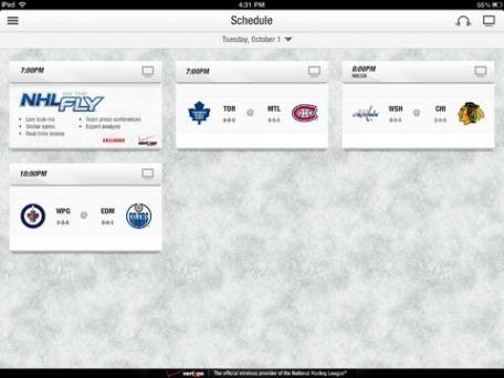 NHL GameCenter™