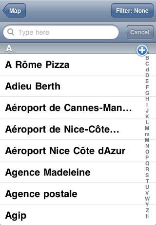 Nice (France) Map Offline