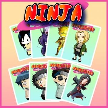Ninja Memory Game