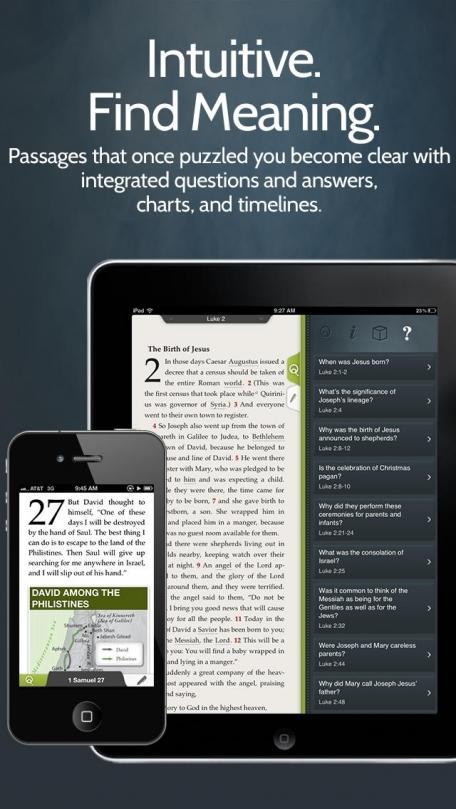 NIV Quest Study Bible from Zondervan