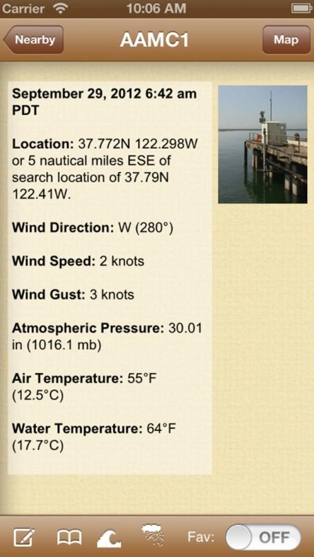 NOAA Buoy and Tide Data