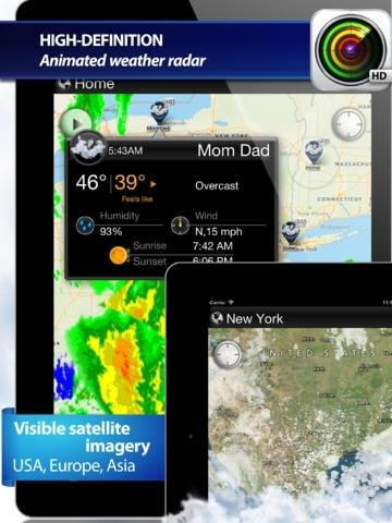 NOAA Radar and Satellite
