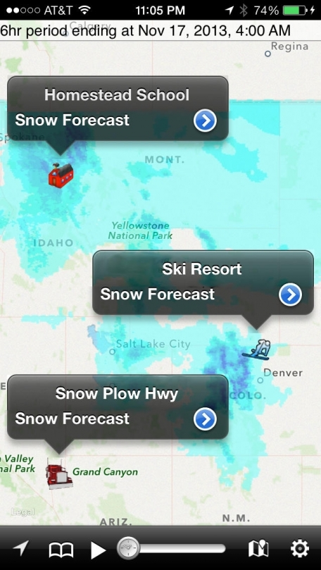 NOAA Snow Forecast - Accurate Winter Weather, Chance of Snowfall & Snowday Prediction