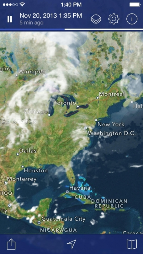 Noaa us weather map