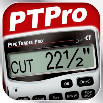 Pipe Trades Pro -- Advanced Feet Inch Fraction and Metric Pipe Trades Math Calculator for Pipefitters, Welders, Mechanical Contractors, Designers, Engineers and other Building Professionals
