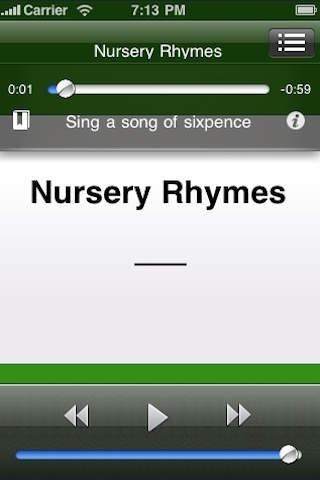 Nursery Rhymes Audiobook