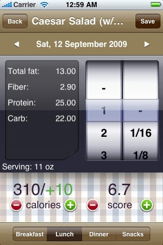 Nutrition Genius FREE - Calorie, Exercise & Weight Tracker