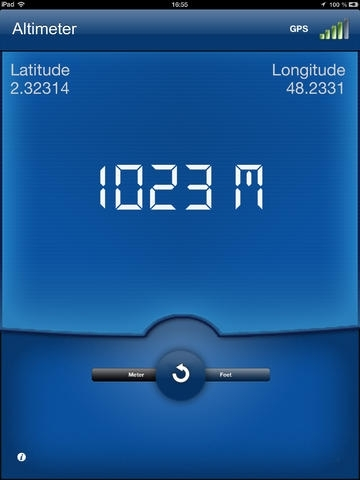 Altimeter PRO : Very accurate GPS