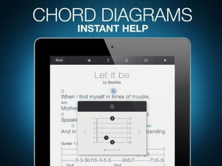 Ultimate Guitar Tabs HD - largest catalog of songs with guitar chords, tabs and lyrics
