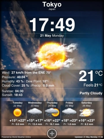 iWeather HD Plus - Weather and Forecast