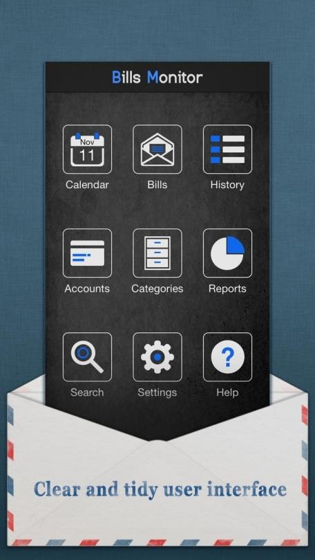 Bills Monitor – Bill Manager & Reminder