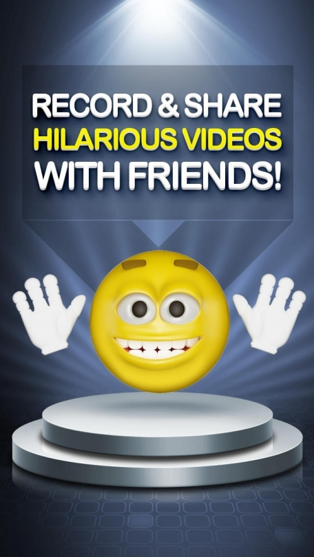 3D Emoji - Talking Emoji Symbols Free Movie Maker Star Booth - Share Gif Video with Funny Helium Voice Changer via iPhone Texting, Keek