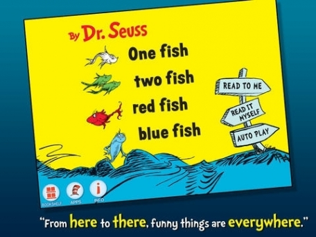 One Fish Two Fish Red Fish Blue Fish - Dr. Seuss