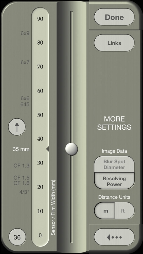 OptimumCS-Pro: Optimum Camera Settings for Imaging Professionals