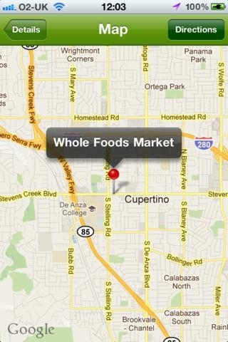 OrganiFinder - Find your nearest Whole Foods Market