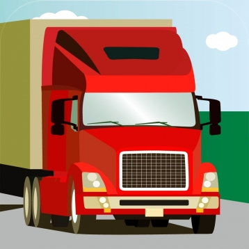 100 Trucks - Picture book for small kids