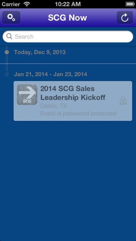 2014 SCG Sales Leadership Kickoff