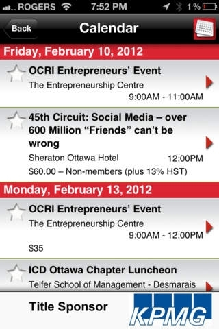 Ottawa Business Events