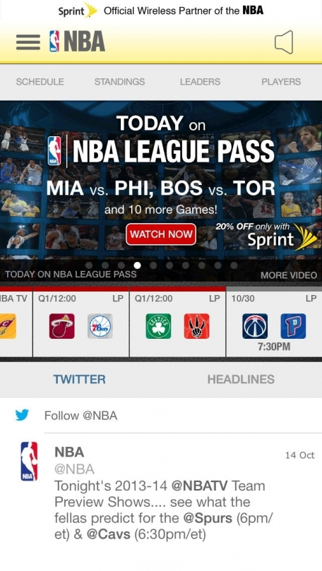 NBA Game Time 2013-2014