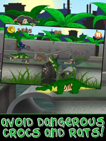 Motorcycle Bike Race Escape HD : Speed Racing Shooter from Mutant Sewer Rats & Turtles Game - For iPhone & iPad Edition
