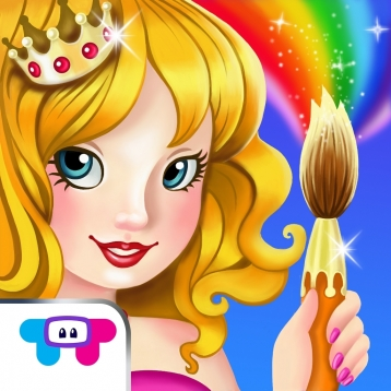 Paint Sparkles: Princess Party!